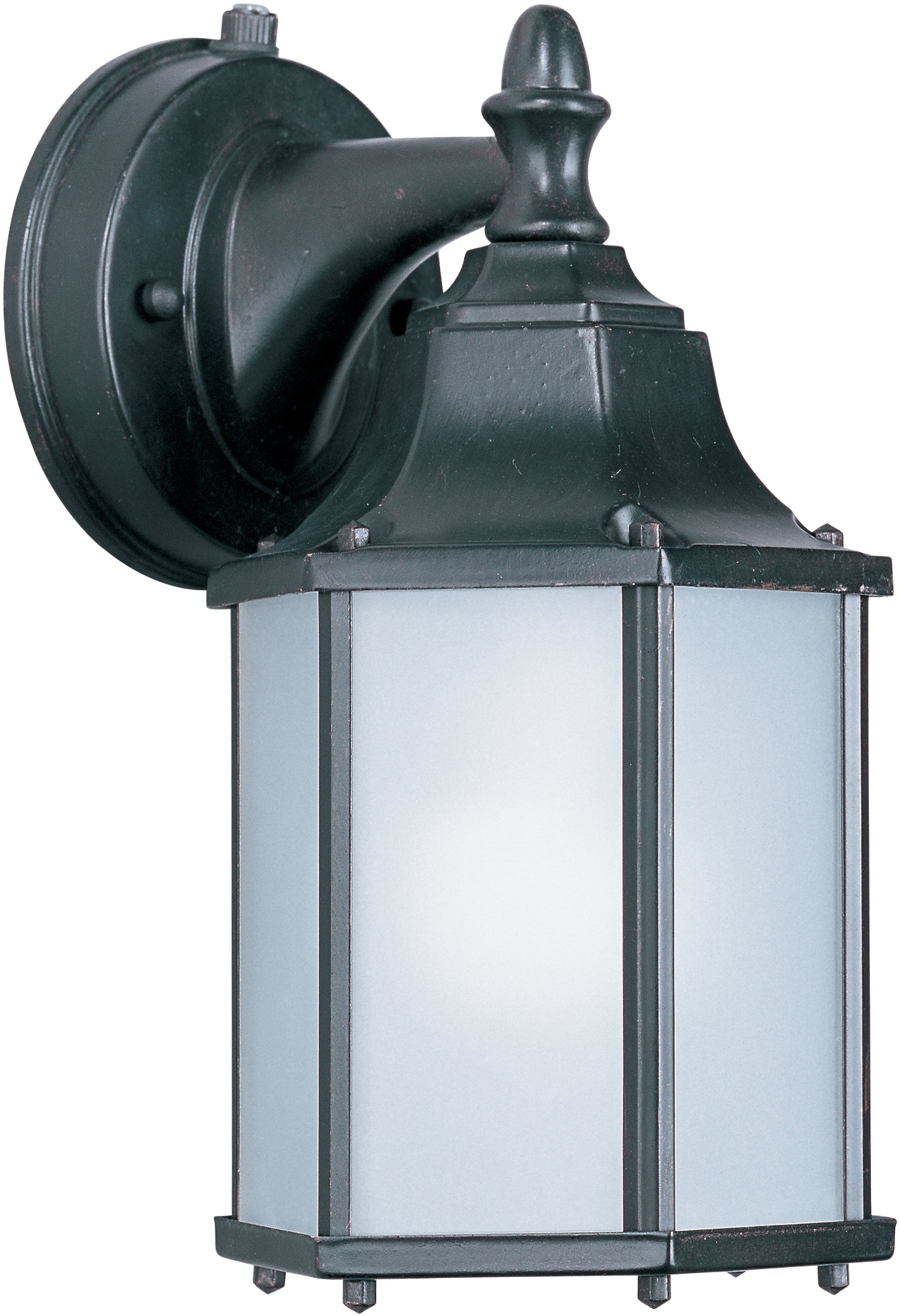 Maxim Lighting 56926 Side Door LED Outdoor Wall Mount, Empire Bronze Finish, 5.5 by 10-Inch