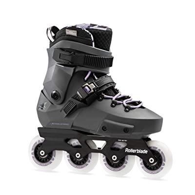 Rollerblade Twister Edge Women's Adult Fitness Inline Skate, Anthracite and Lilac, High Performance Inline Skates : Sports & Outdoors