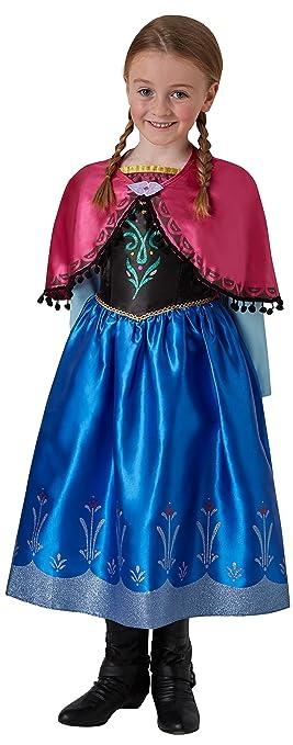 Disney - i-630033s Luxe - Disfraz Anna: Amazon.es: Juguetes y juegos
