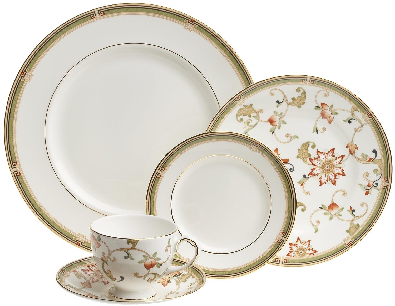 Amazon.com: Wedgwood Oberon 5 Piece Place Setting: Dinnerware Sets ...