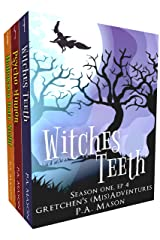 Gretchen's (Mis)Adventures Boxed Set 4-6: A hilarious high fantasy witch series (Gretchen's (Mis) Adventures - Season One) Kindle Edition