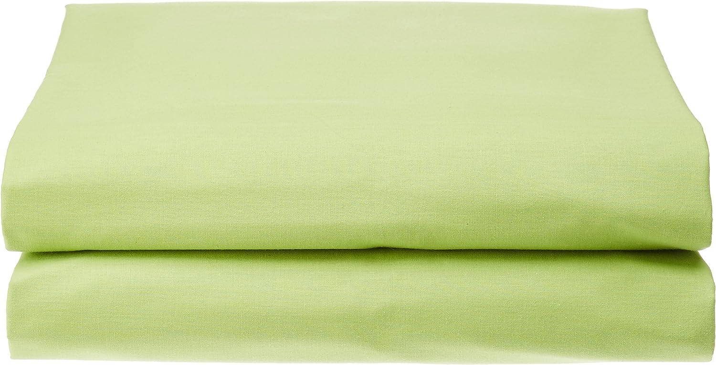 Lovely Casa D14820001 Alicia Drap Plat Coton Blanc 290 x 180 cm
