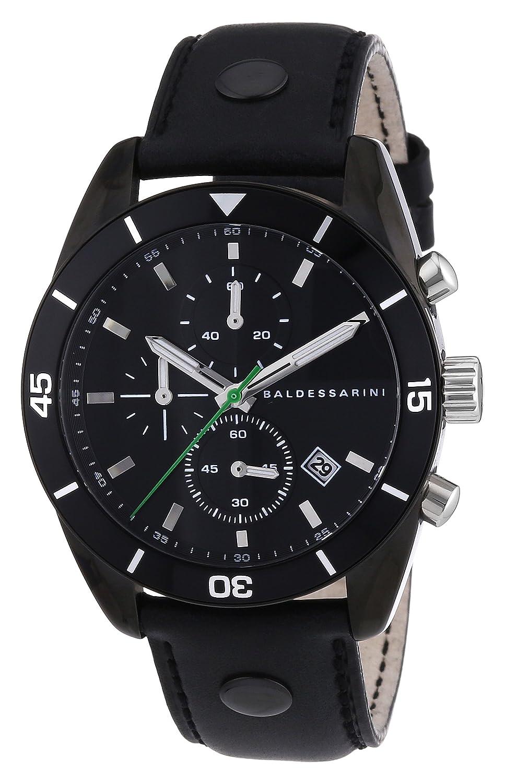 Baldessarini Herren-Armbanduhr XL ORD Chronograph Quarz Leder Y8044W-20-00