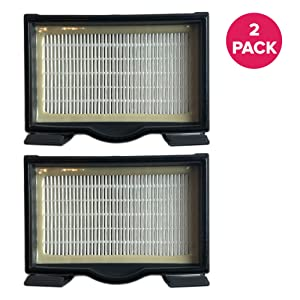 Think Crucial 2 Replacements for Eureka HF8 HEPA Style Filter Fits 3600 & Mighty Mite Canisters, Compatible With Part # 60666, 60666A, 60666B & 60666-6