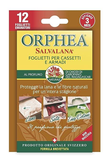 7 opinioni per Orphea- Salvalana Foglietti Anti Tarme al Profumo di Chiodi di Garofano del