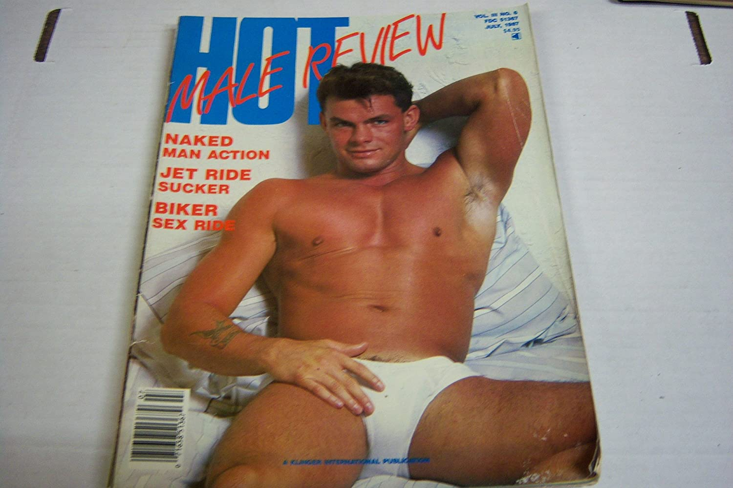 Amazon.com: Hot Male Review Gay Adult Magazine