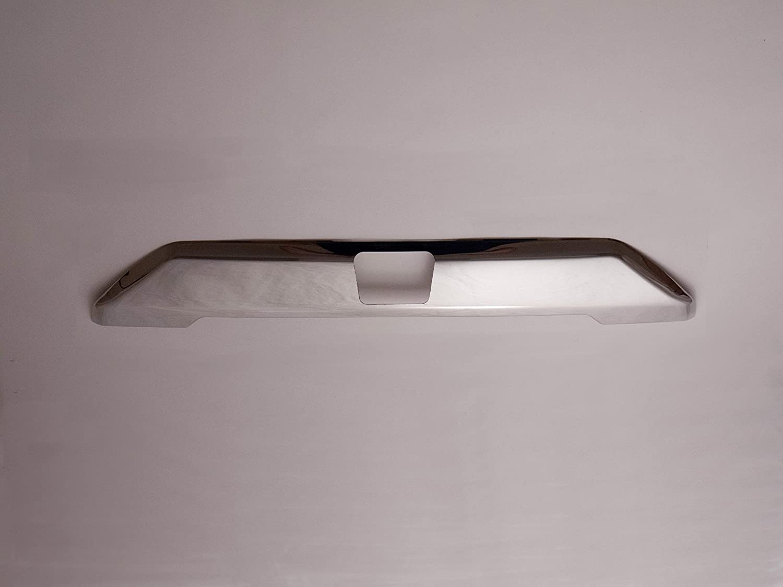 Cromo, trasero de acero inoxidable con asa, diseño de Ford Transit Custom [W/Camera]: Amazon.es: Coche y moto