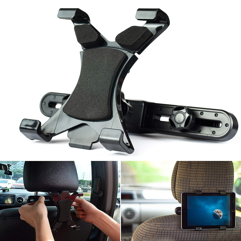 """PSTZ® - Supporto per tablet per poggiatesta in auto, per iPad e tablet Samsung Galaxy da 7""""a 10"""" per iPad e tablet Samsung Galaxy da 7a 10 PSTZ® 0103"""