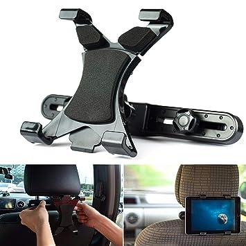 PSTZ Soporte Tablet Coche para reposacabezas en el coche, para iPad y Tabletas Samsung Galaxy de 7: Amazon.es: Electrónica