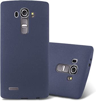 Cadorabo Funda para LG G4 / G4 Plus en Frost Azul Oscuro: Amazon ...