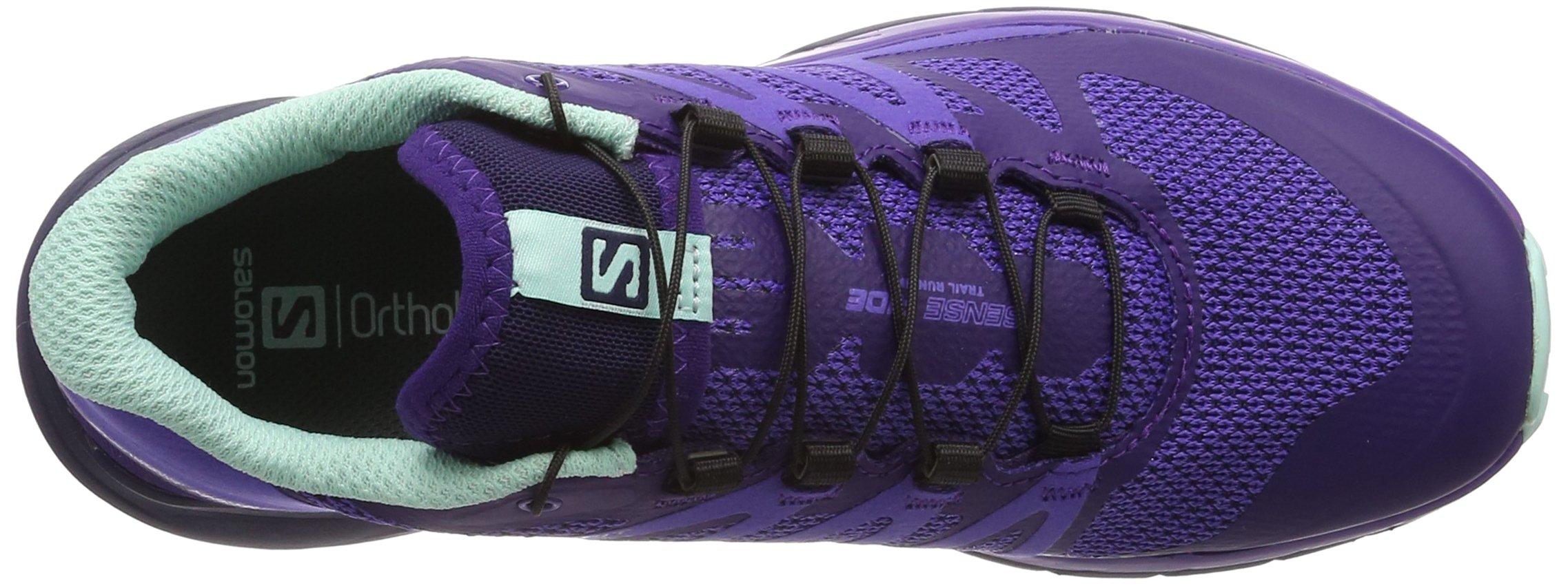 Salomon Women's Sense Ride Running Shoes, Purple, 6.5 M by Salomon (Image #7)