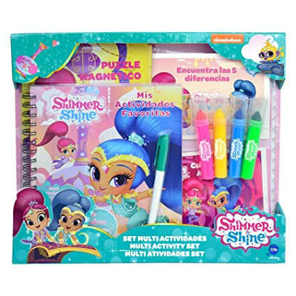 Amazon.com: Shimmer and Shine Set – Jungle (Cife Spain 41106 ...