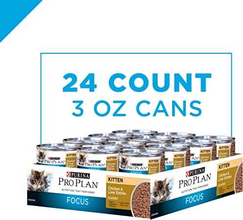 Purina Pro Plan Kitten Canned Wet Cat Food