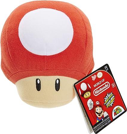 Amazon Com Nintendo World Of Nintendo 1 Up Mushroom Plush With