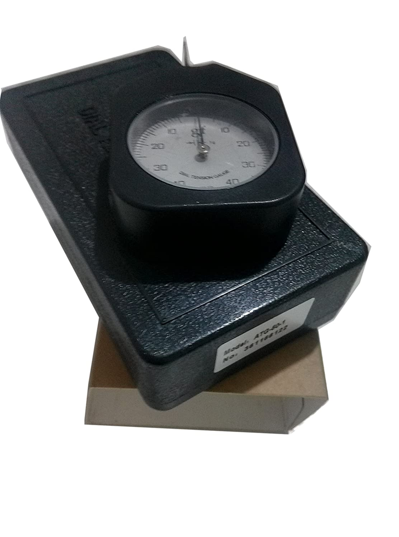 VTSYIQI ATG-50-1 Dial Tension Gauge meter tester Tensionmeter Gram Force Meter Single Pointer 50G Pressure Pull Tester Gage Analog tension meter tension tester Single needle Gram gauge Unit G VETUS INSTRUMENTS