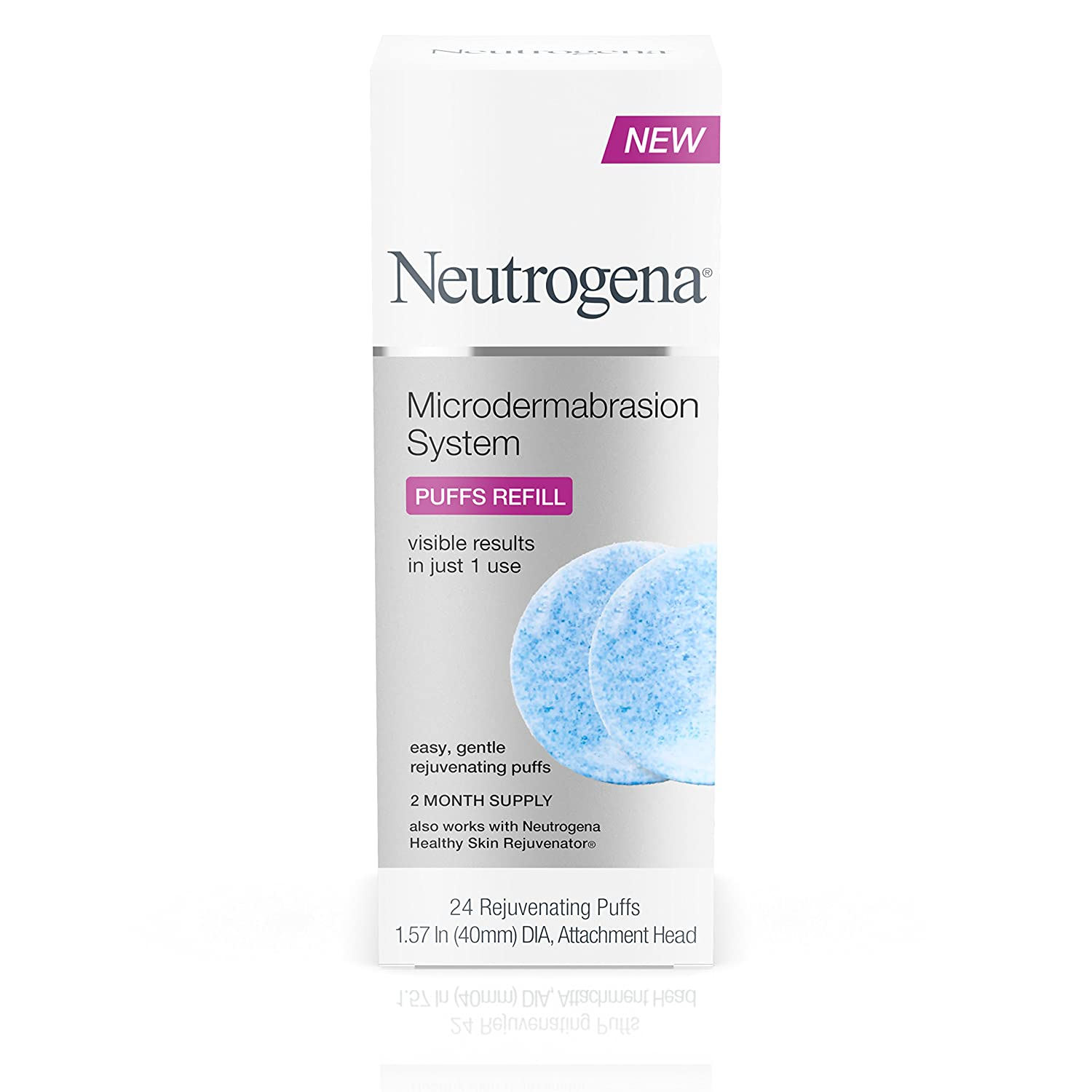 Neutrogena Microdermabrasion System Exfoliating Puff Refills, 24 Count Johnson & Johnson SLC 070501055243