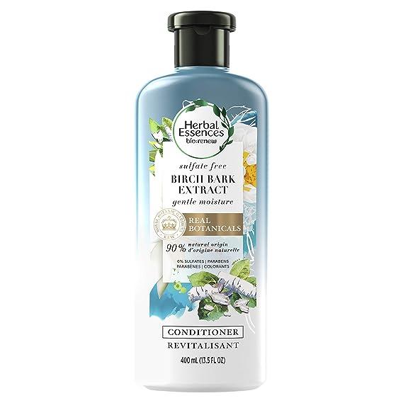 Amazon Com Herbal Essences Bio Renew Birch Bark Extract Sulfate Free Conditioner 13 5 Fluid Ounce Beauty