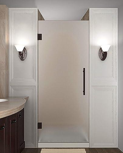 Aston SDR995F-NBR-38-10 Cascadia Shower Door, 38 x 72 , Bronze