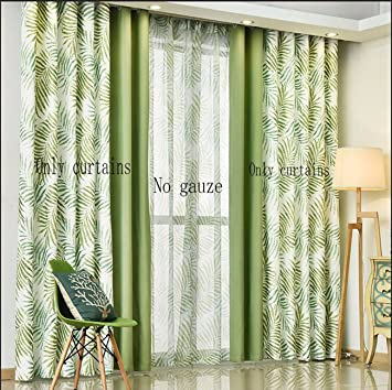 Curtain Simple Modern Mosaic Curtains American Garden Nordic ...