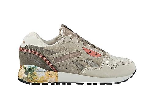 Reebok Zapatillas para Mujer, Color Beige, Talla 39