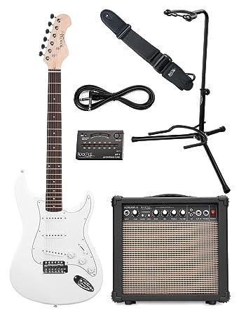 Rocktile Sphere Classic White E-Gitarre Set (E-Gitarre in ST-Design ...