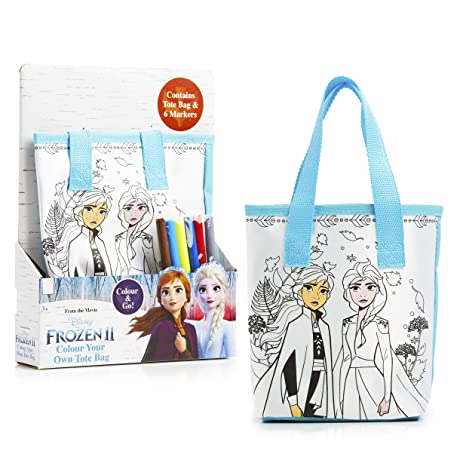 Disney Frozen 2 Bolsa Tela Infantil para Colorear ...