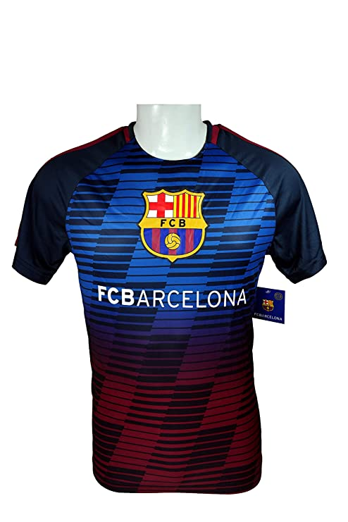 finest selection b7dfd ed4f5 Amazon.com : FC Barcelona Official Performance Jersey, T ...