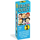 Brain Quest 1st Grade Q&A Cards: 750 Questions and Answers to Challenge the Mind. Curriculum-based! Teacher-approved! (Brain