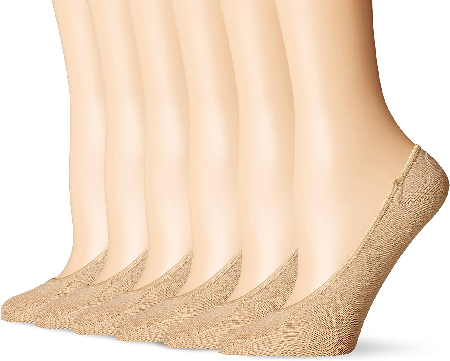 PEDS Women's Ultra Low Microfiber Liner with Gel Tab
