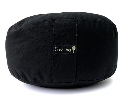 Amazon.com: Zafu – Almohada de yoga y meditación por Susama ...
