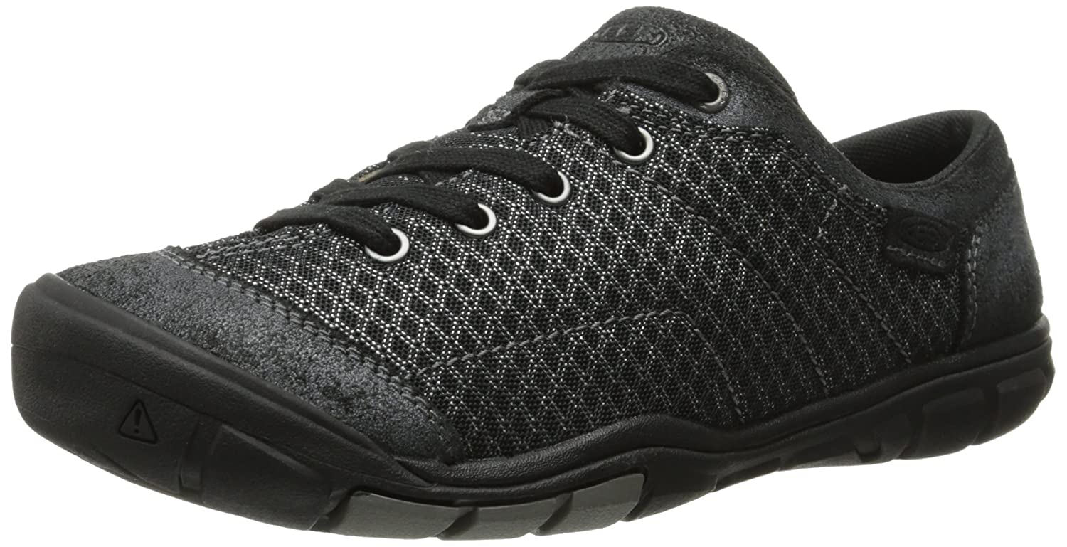 KEEN Women's Mercer Lace II CNX Shoe B00LG9N916 6.5 B(M) US|Black
