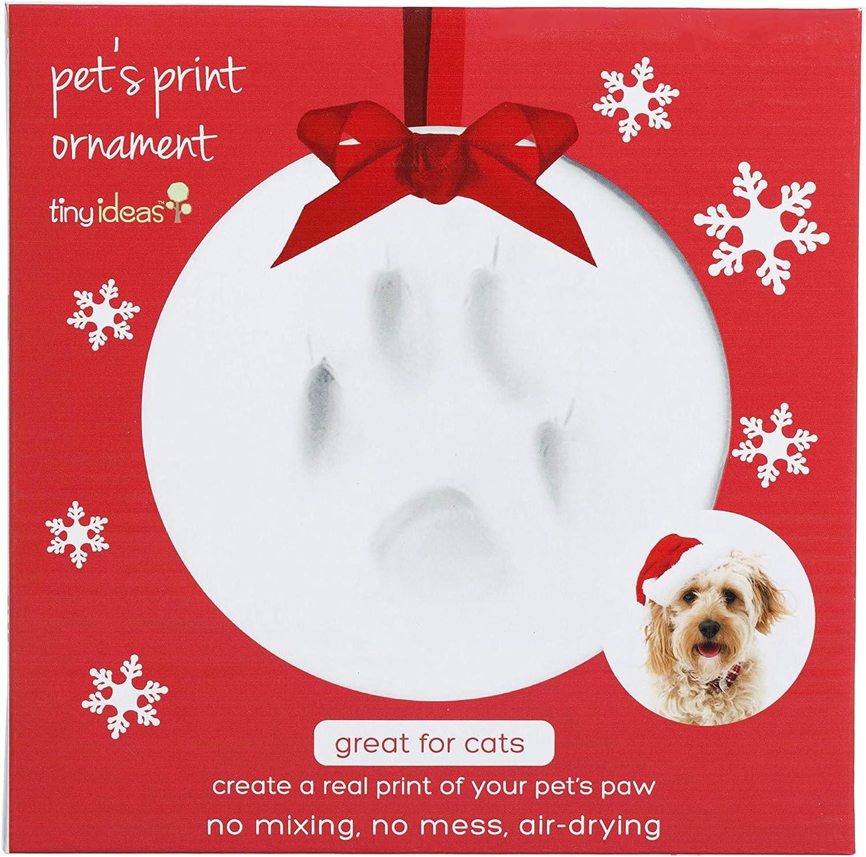 Tiny Ideas Pawprints DIY Holiday Keepsake Ornament