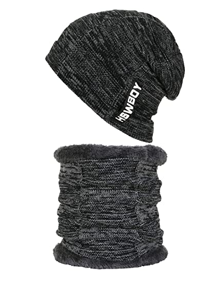 71d7fbeb0506be Zando Men Women Snow Slouch Beanie Skully Sports Beanie Long Hat Chunky Cap  Best Winter Head
