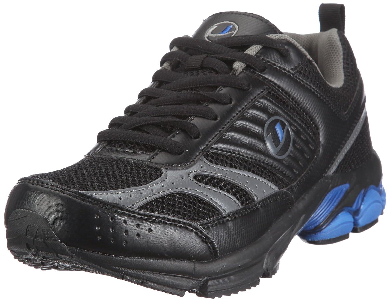 TALLA 44. Ultrasport Sport und Laufschuh,Modell 1,Schwarz 10063 - Zapatillas de Deporte para Hombre