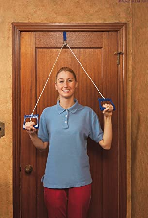 Over Door Exercise Pulley   Webbing Anchor [Electronics]