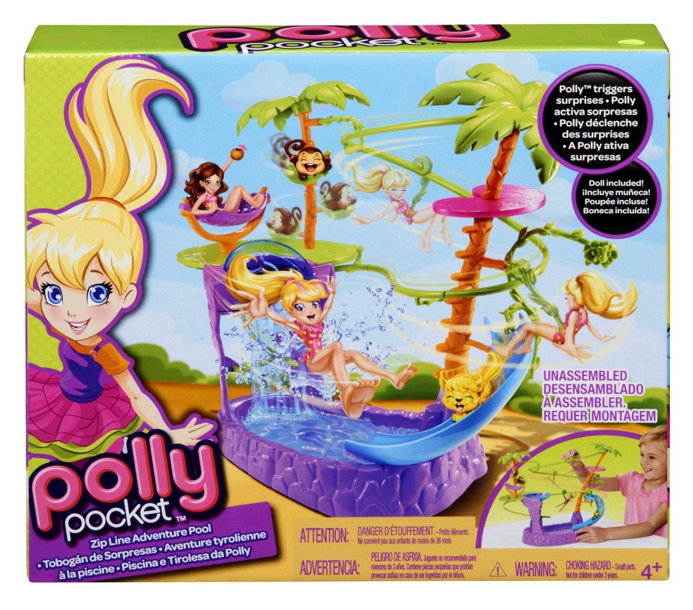 polly pocket x9046 accessoire poupe polly piscine et jeu aquatique amazonfr jeux et jouets