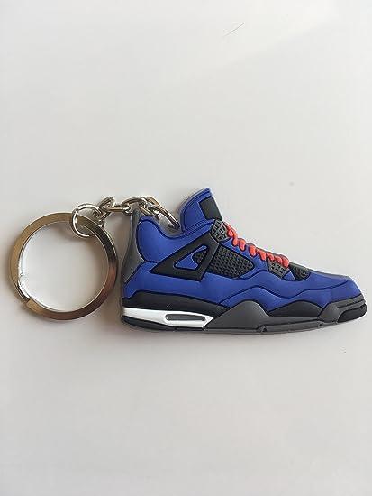 new product cc605 6c3e3 Amazon.com : Jordan Retro 4 Eminem Sneaker Keychain Shoes ...