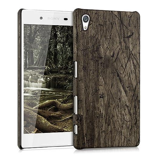 3 opinioni per kwmobile Cover per Sony Xperia Z5- Custodia rigida in plastica per cellulare-