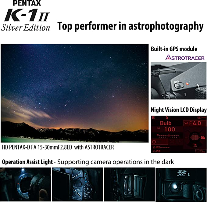 Pentax K 1 Mark Ii Silver Edition Dslr Camera Case Camera Photo