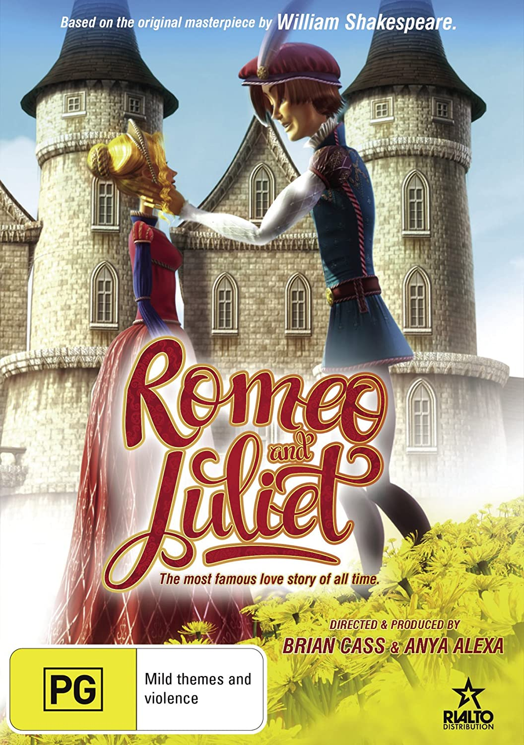 Romeo and Juliet | Animated | NON-USA Format | PAL | Region 4 Import - Australia