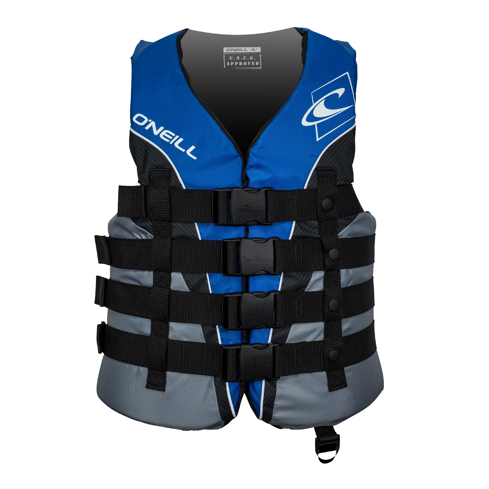 O'Neill  Men's Superlite USCG Life Vest, Pacific/Smoke/Black/White,Small by O'Neill Wetsuits (Image #1)