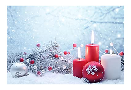 janninse red white christmas ball candle snowflake christmas decoration vertical stripe large door mat door