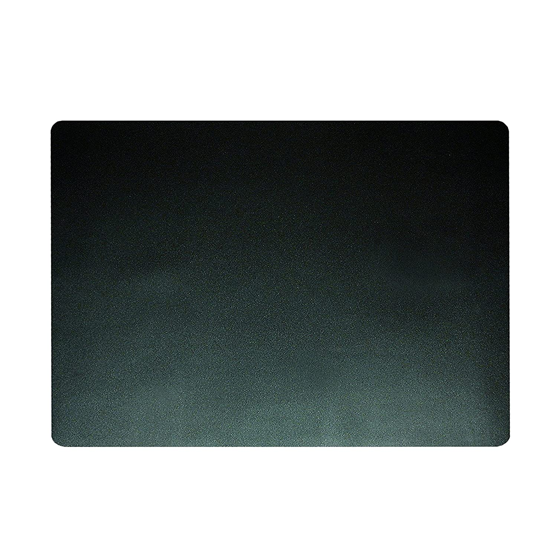 Artistic 12-Inch X 17-Inch Eco-Black Desk Pad with Microban, Black 75-2-0