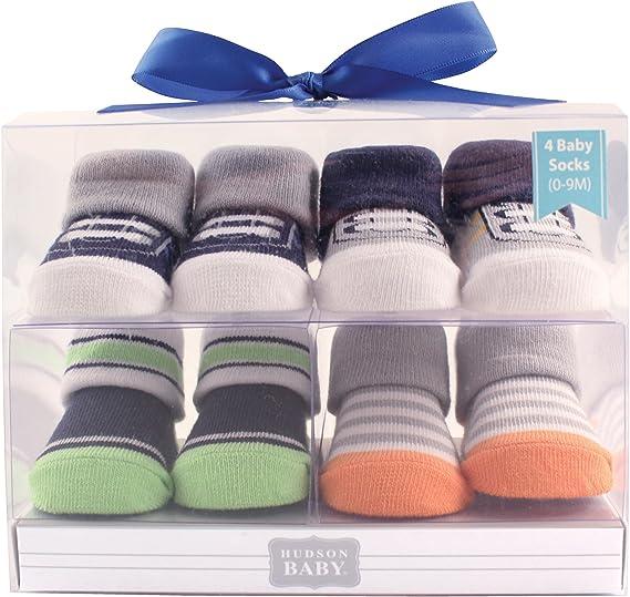 Calcetines unisex para beb/é Hudson en caja de regalo