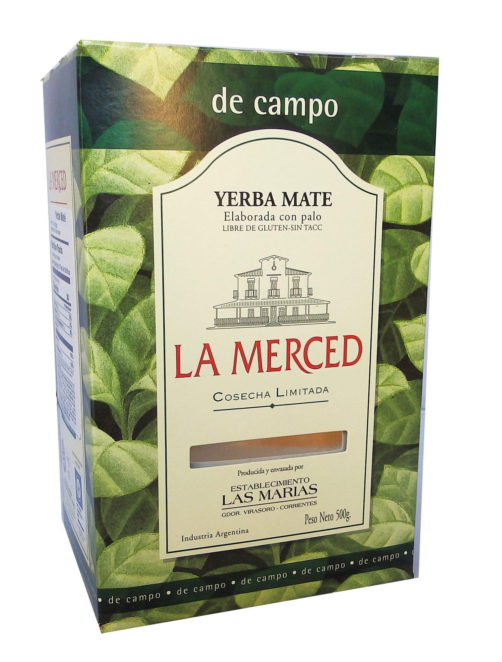 La Merced De Campo Yerba Mate 500 g (1.1 lbs) 6 Pack by La Merced (Image #2)