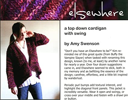 Amazon Elsewhere A Top Down Cardigan With Swing Indigirl