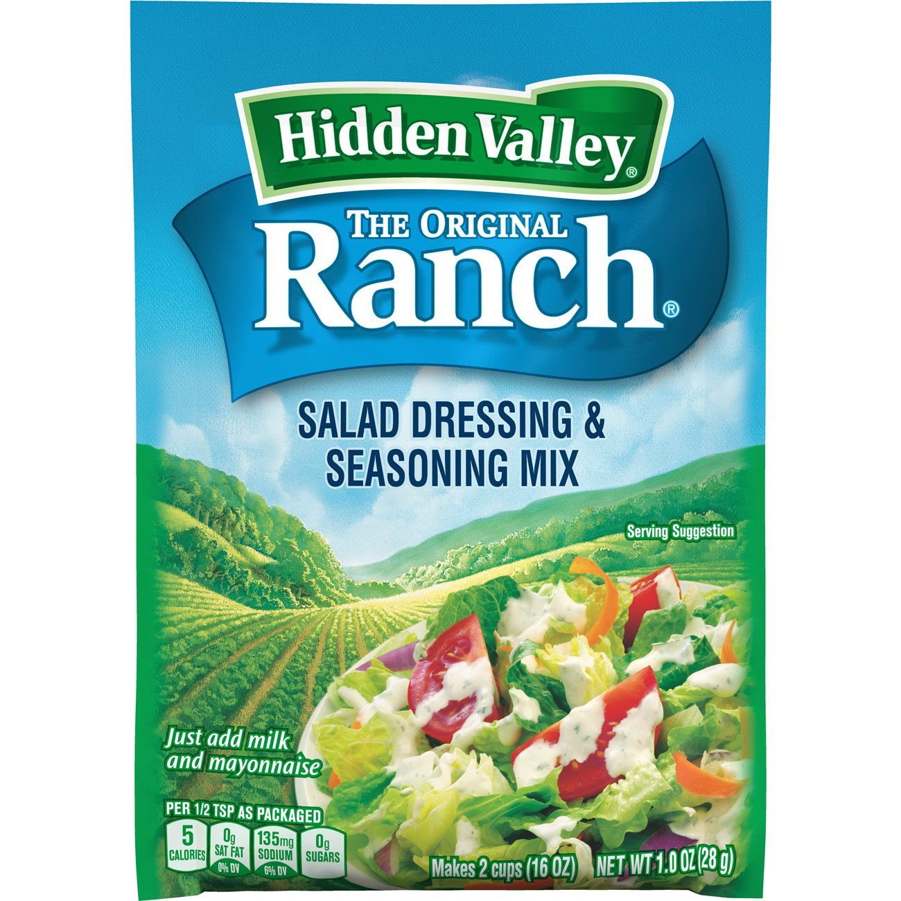 Dressing Ranch packet pictures 2019
