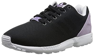 adidas Originals Women's ZX Flux Weave W Lifestyle Runner Sneaker, Core  Black/Core Black