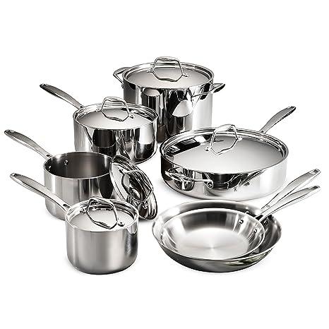 Amazon.com: Tramontina 80116/004DS Gourmet - Sartén (acero ...