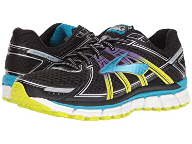 3be0af6a2c9ab Brooks Women s Adrenaline GTS 17 Running Shoe Black Hawaiian Ocean Lime  Punch Size 9 M US  Amazon.in  Shoes   Handbags